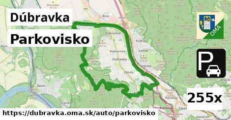 parkovisko v Dúbravka