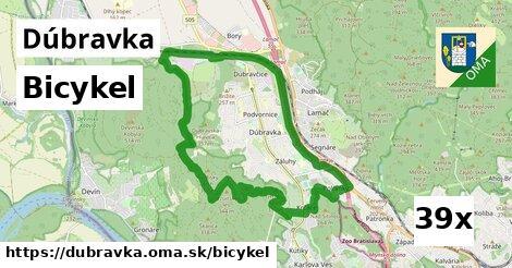 bicykel v Dúbravka