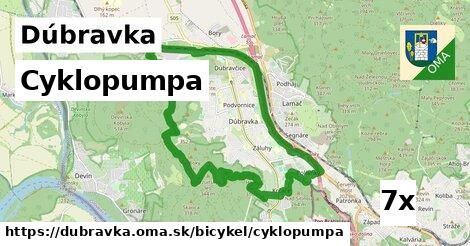 cyklopumpa v Dúbravka
