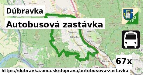 autobusová zastávka v Dúbravka