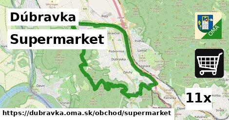 supermarket v Dúbravka