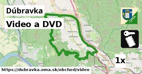 video a DVD v Dúbravka