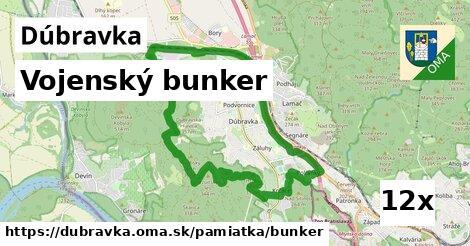 vojenský bunker v Dúbravka