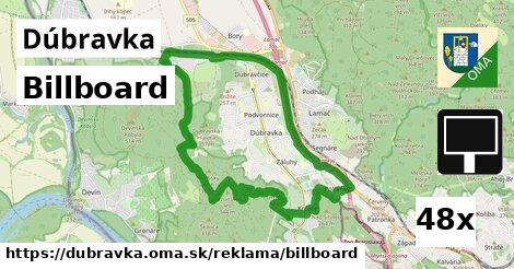 billboard v Dúbravka