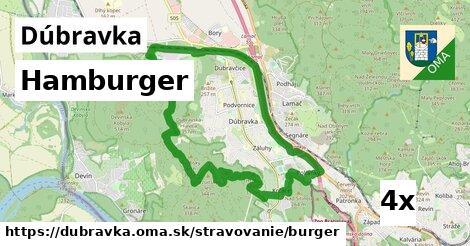 hamburger v Dúbravka