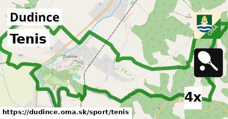 tenis v Dudince