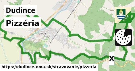 pizzéria v Dudince