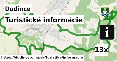 turistické informácie v Dudince
