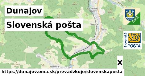 ilustračný obrázok k Slovenská pošta, Dunajov
