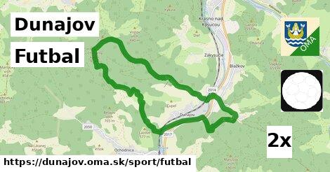 ilustračný obrázok k Futbal, Dunajov