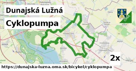 cyklopumpa v Dunajská Lužná