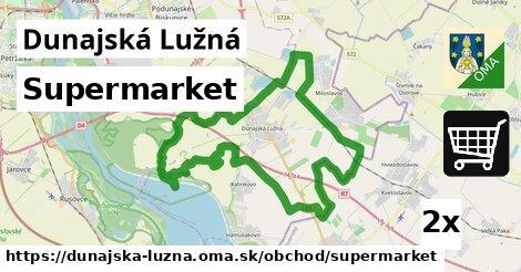 supermarket v Dunajská Lužná