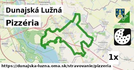pizzéria v Dunajská Lužná