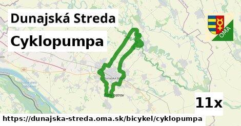 cyklopumpa v Dunajská Streda