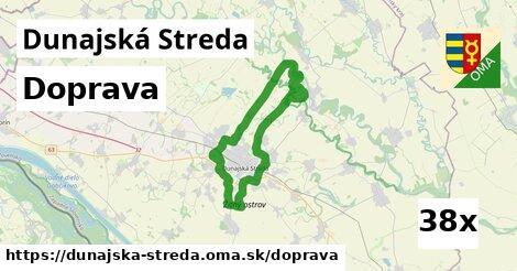doprava v Dunajská Streda