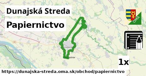 ilustračný obrázok k Papiernictvo, Dunajská Streda