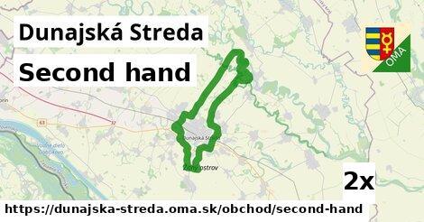 ilustračný obrázok k Second hand, Dunajská Streda