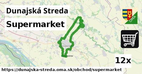 ilustračný obrázok k Supermarket, Dunajská Streda