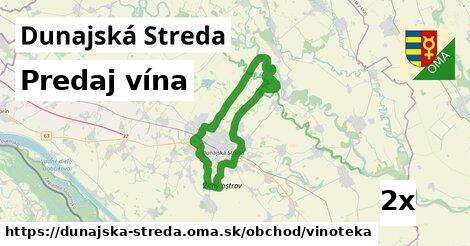 ilustračný obrázok k Predaj vína, Dunajská Streda