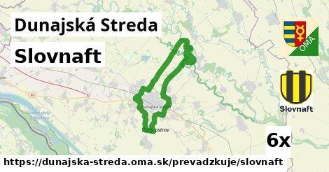 Slovnaft v Dunajská Streda