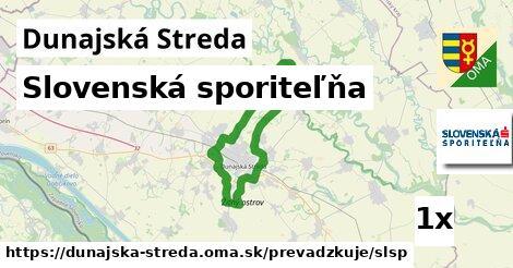 Slovenská sporiteľňa v Dunajská Streda