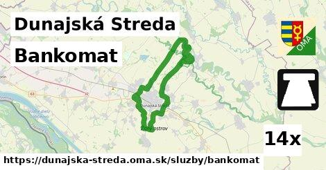 ilustračný obrázok k Bankomat, Dunajská Streda