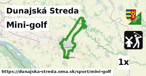 mini-golf v Dunajská Streda