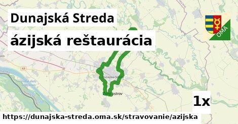 ázijská reštaurácia v Dunajská Streda