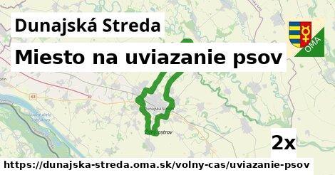 ilustračný obrázok k Miesto na uviazanie psov, Dunajská Streda