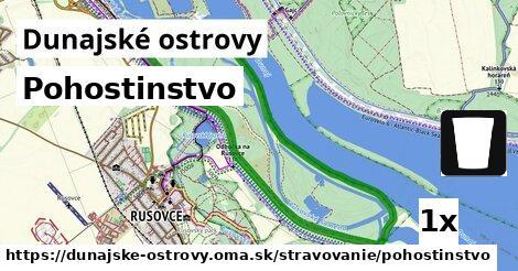 pohostinstvo v Dunajské ostrovy