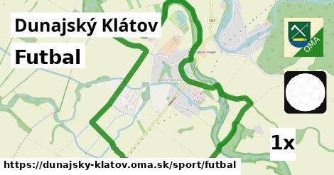 ilustračný obrázok k Futbal, Dunajský Klátov