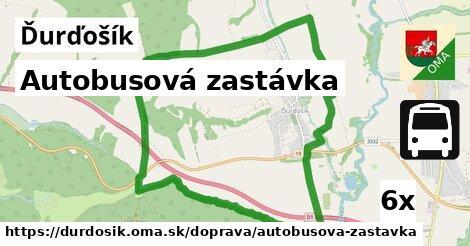 ilustračný obrázok k Autobusová zastávka, Ďurďošík