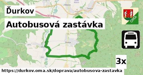 ilustračný obrázok k Autobusová zastávka, Ďurkov