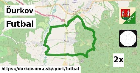 ilustračný obrázok k Futbal, Ďurkov