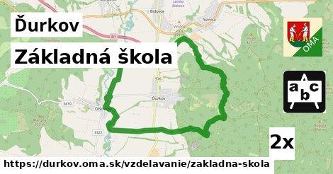 ilustračný obrázok k Základná škola, Ďurkov