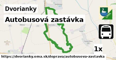 ilustračný obrázok k Autobusová zastávka, Dvorianky