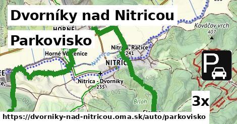 parkovisko v Dvorníky nad Nitricou