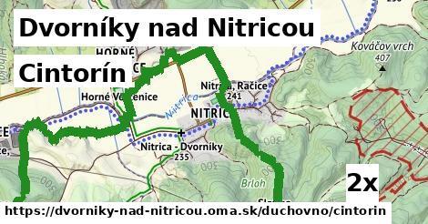 cintorín v Dvorníky nad Nitricou