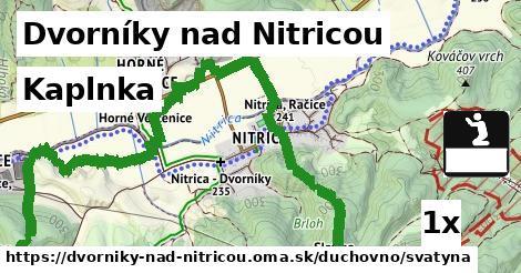 kaplnka v Dvorníky nad Nitricou