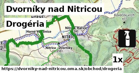 drogéria v Dvorníky nad Nitricou