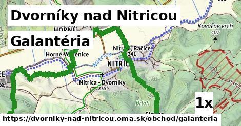 galantéria v Dvorníky nad Nitricou