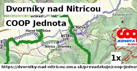 COOP Jednota v Dvorníky nad Nitricou