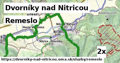 remeslo v Dvorníky nad Nitricou