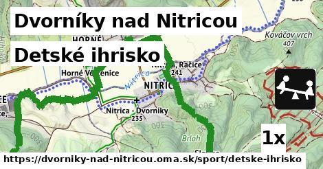 detské ihrisko v Dvorníky nad Nitricou