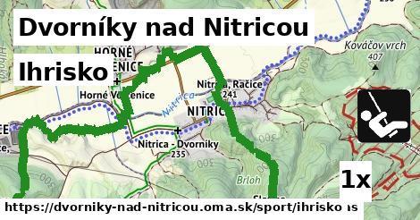 ihrisko v Dvorníky nad Nitricou