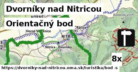orientačný bod v Dvorníky nad Nitricou
