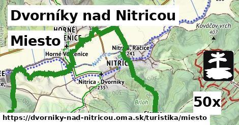 miesto v Dvorníky nad Nitricou