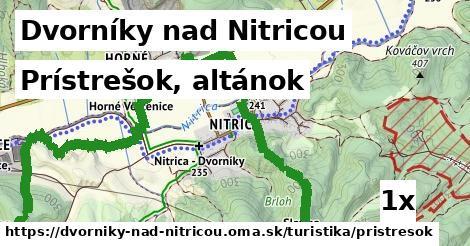 prístrešok, altánok v Dvorníky nad Nitricou