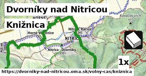 knižnica v Dvorníky nad Nitricou