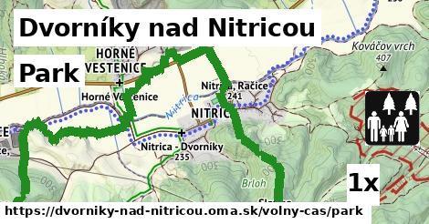 park v Dvorníky nad Nitricou